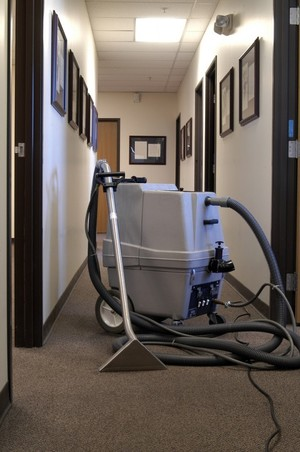 Commercial Carpet Cleaning by Gold Star Services