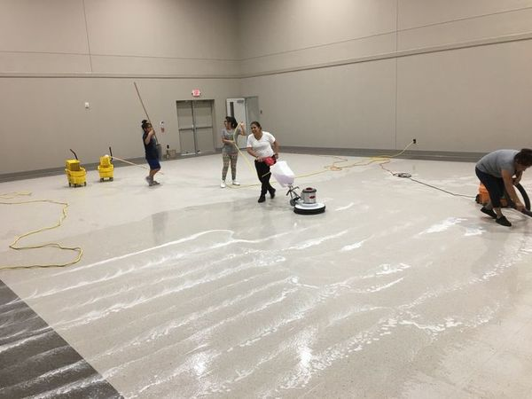 """They sent out a team to do a detail cleaning after the construction of our brand new church building. This team more than met our expectations."" - Vicki S. in Sugar Land TX (1)"